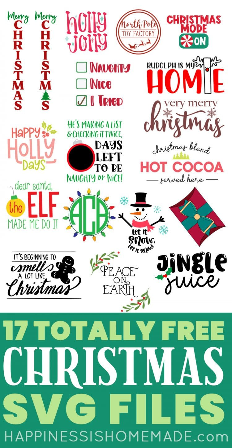 Free Christmas Countdown Svg 16 Christmas Cut Files