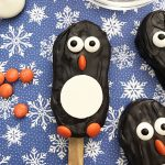 nutter butter penguin cookies square