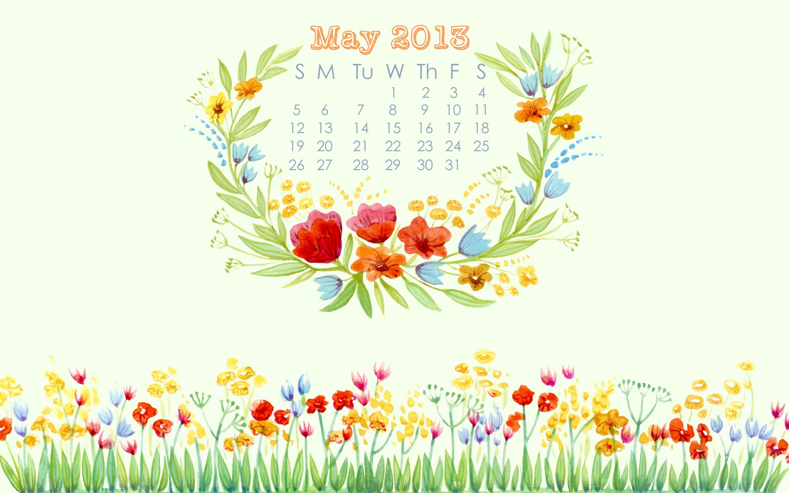 May Calendar Desktop : May calendar desktop background happiness is homemade