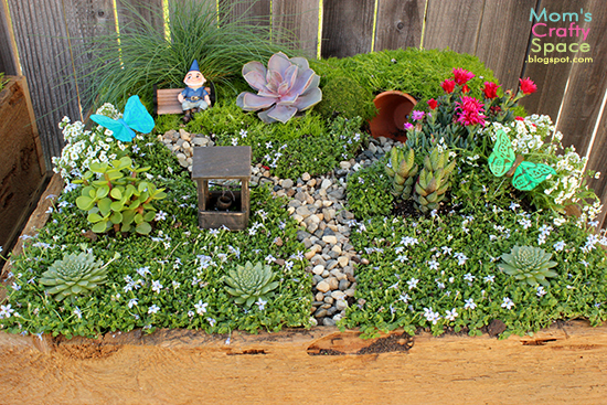 make your own fairy garden happiness is homemade. Black Bedroom Furniture Sets. Home Design Ideas