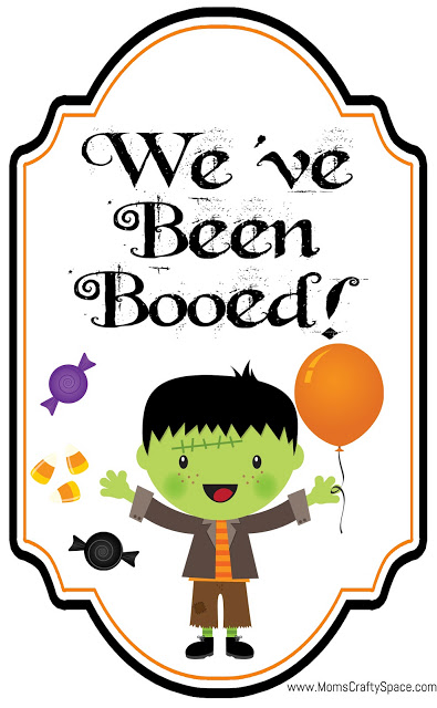 image relating to You've Been Booed Free Printable named Absolutely free Youve Been Booed Printables! - Pleasure is Home made