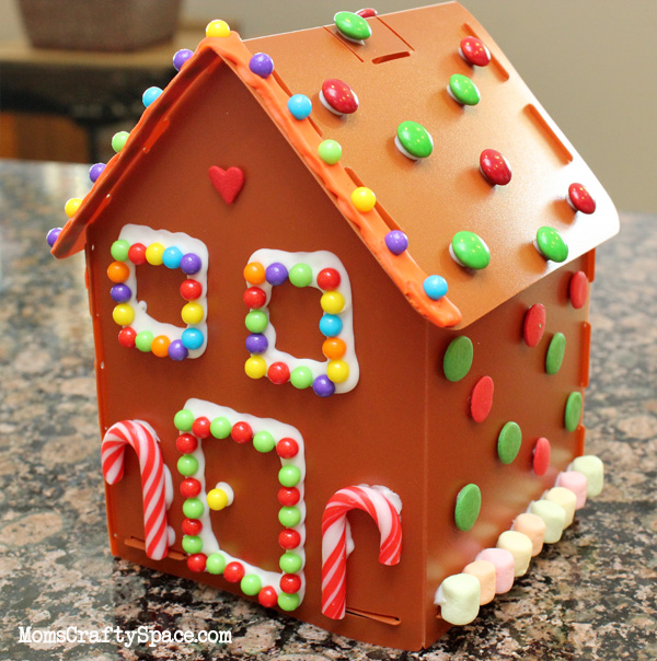 how to make a simple gingerbread house