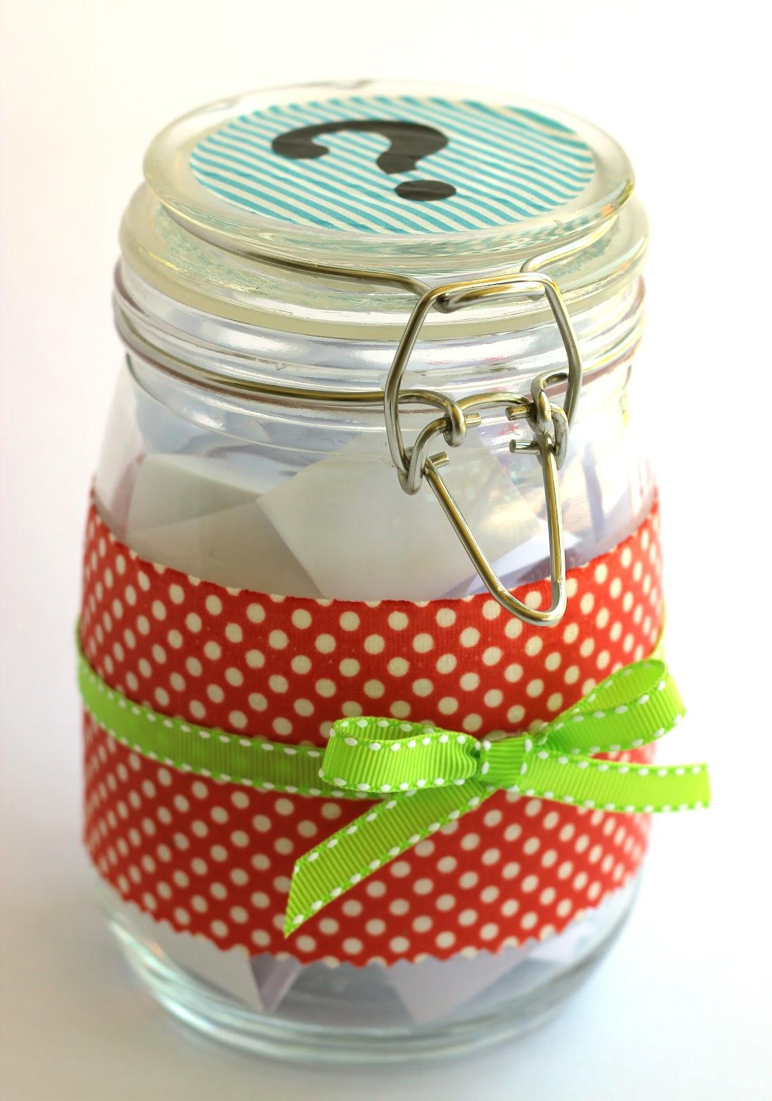 Dinner Conversation Jar Topics Happiness Is Homemade