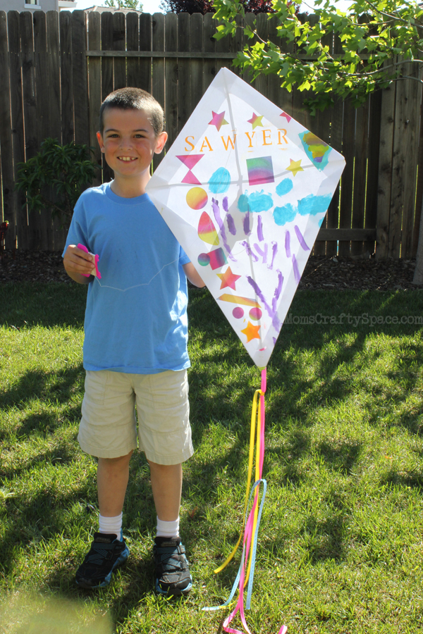 We had SO much fun flying our new kites!