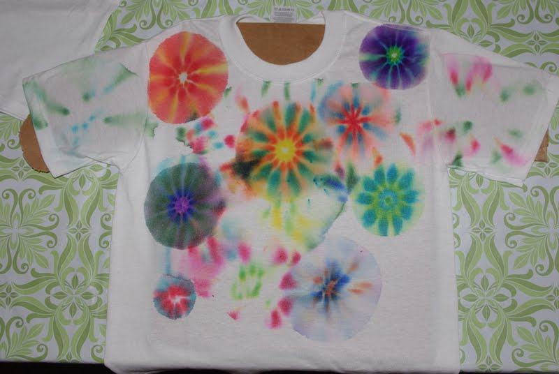 Sharpie tie dye shirts tutorial happiness is homemade for How do you dye a shirt
