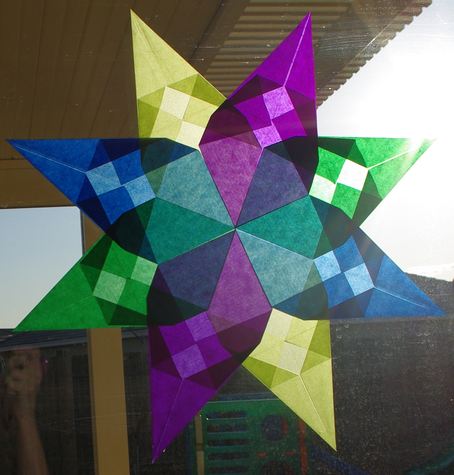 Waldorf window stars happiness is homemade for Waldorf at home