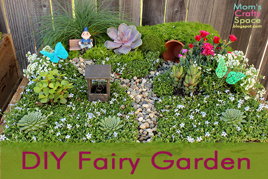 Make Your Own Fairy Garden Happiness Is Homemade