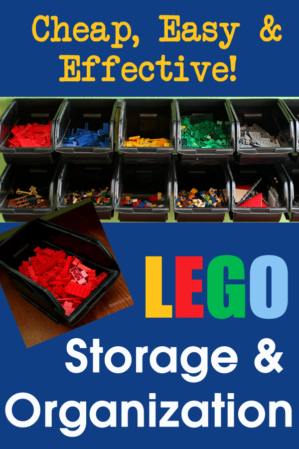 Cheap Easy Lego Storage Organizer Happiness Is Homemade