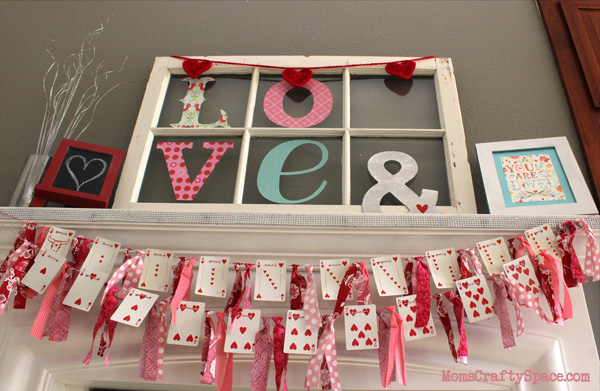 Valentine S Day Heart Cards Garland Happiness Is Homemade