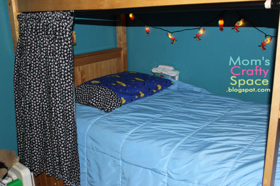 Bunkbed Pirate Fort Happiness Is Homemade - Diy bunk bed curtains