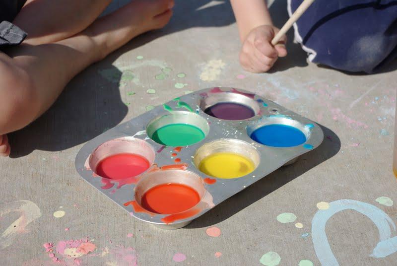 How To Make Sidewalk Chalk Paint Without Cornstarch