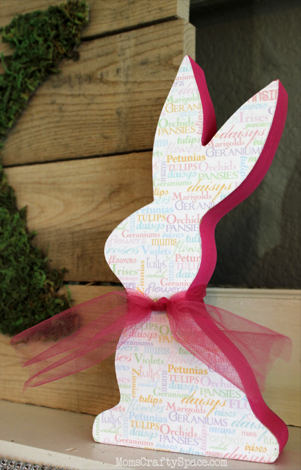 Quick Craft Mod Podge Easter Bunnies Happiness Is Homemade