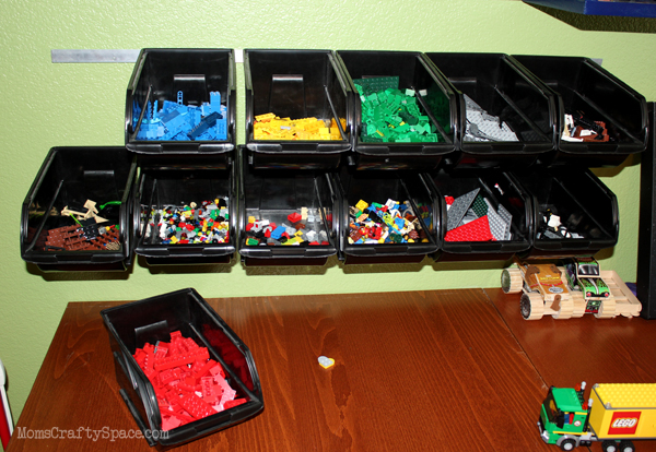 Cheap u0026 Easy LEGO Storage Organizer & Cheap u0026 Easy LEGO Storage Organizer - Happiness is Homemade