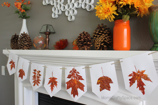 Autumn cardstock Leaf Punchies 10 Fall
