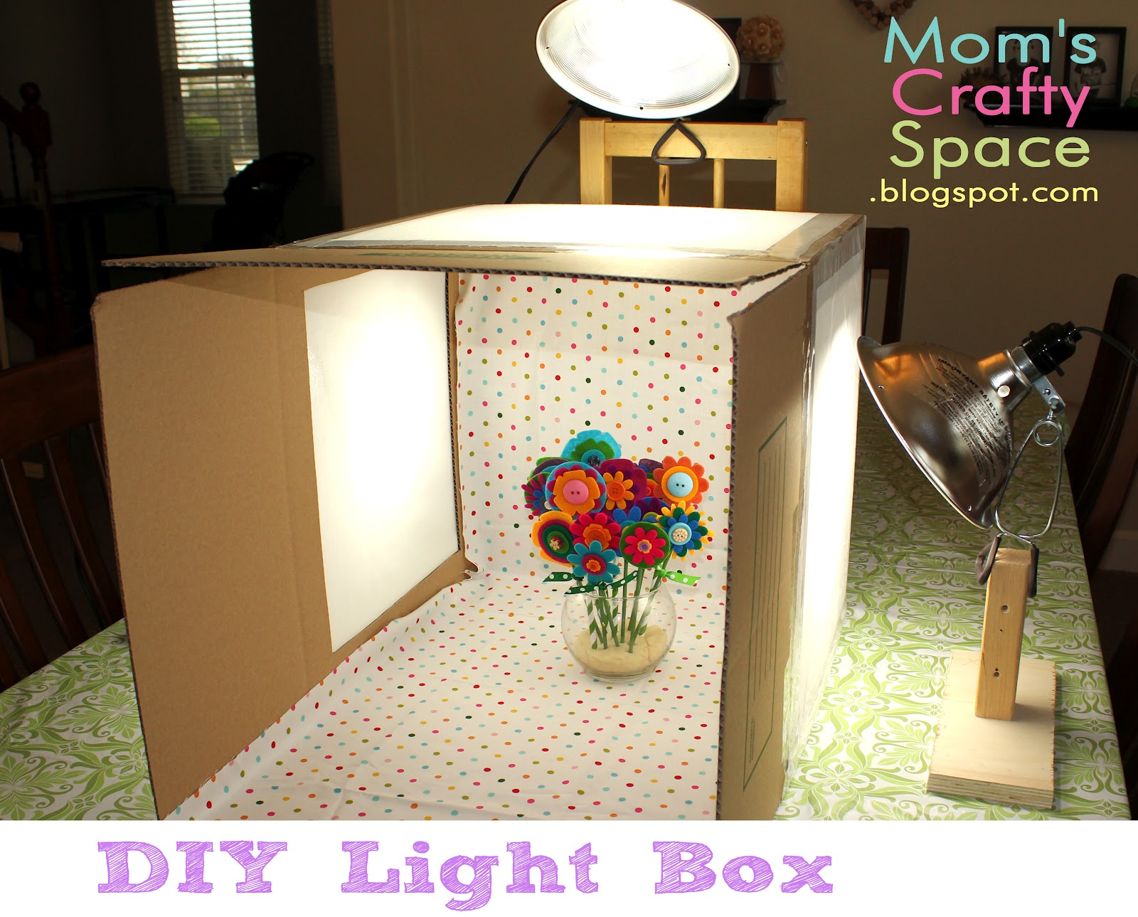 diy light box happiness is homemade. Black Bedroom Furniture Sets. Home Design Ideas