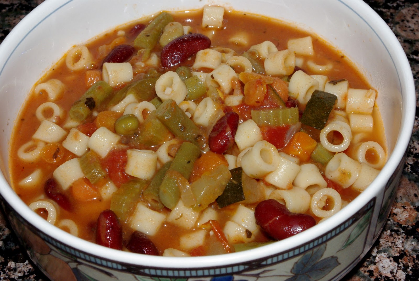 Kids Cook! Everything-But-the-Kitchen-Sink Minestrone Soup {Recipe ...