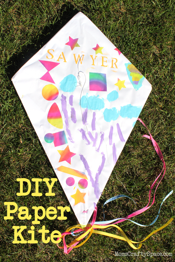 Kids Craft DIY Paper Kite