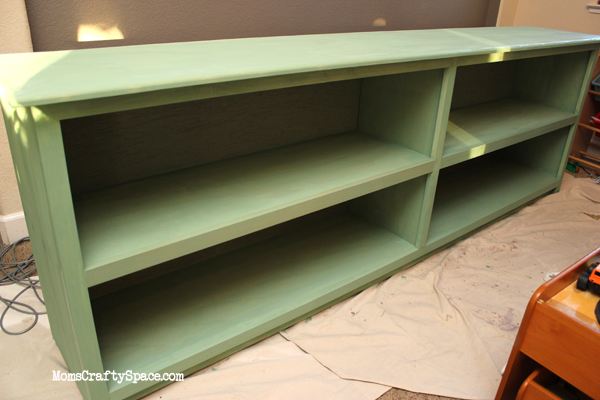 The Tale Of The Green Bookcase