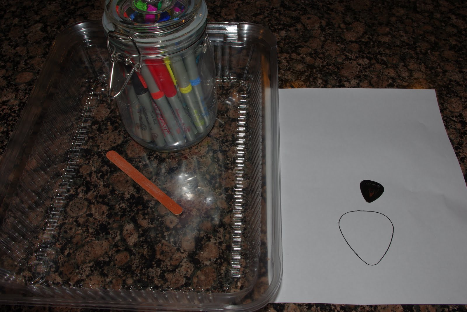 diy guitar picks tutorial happiness is homemade