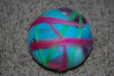 how to start a new ball of wool