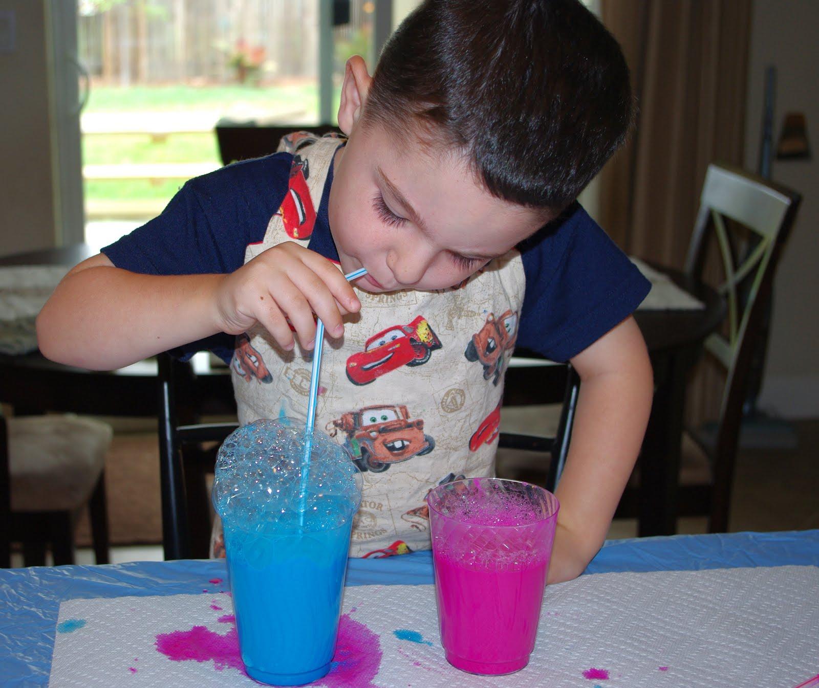 Blow Paint Art Lesson