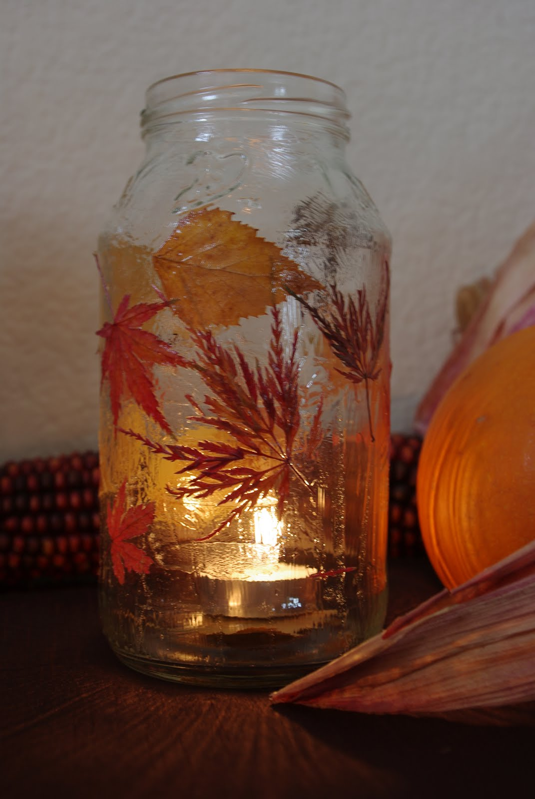 fall leaf lanterns tutorial happiness is homemade