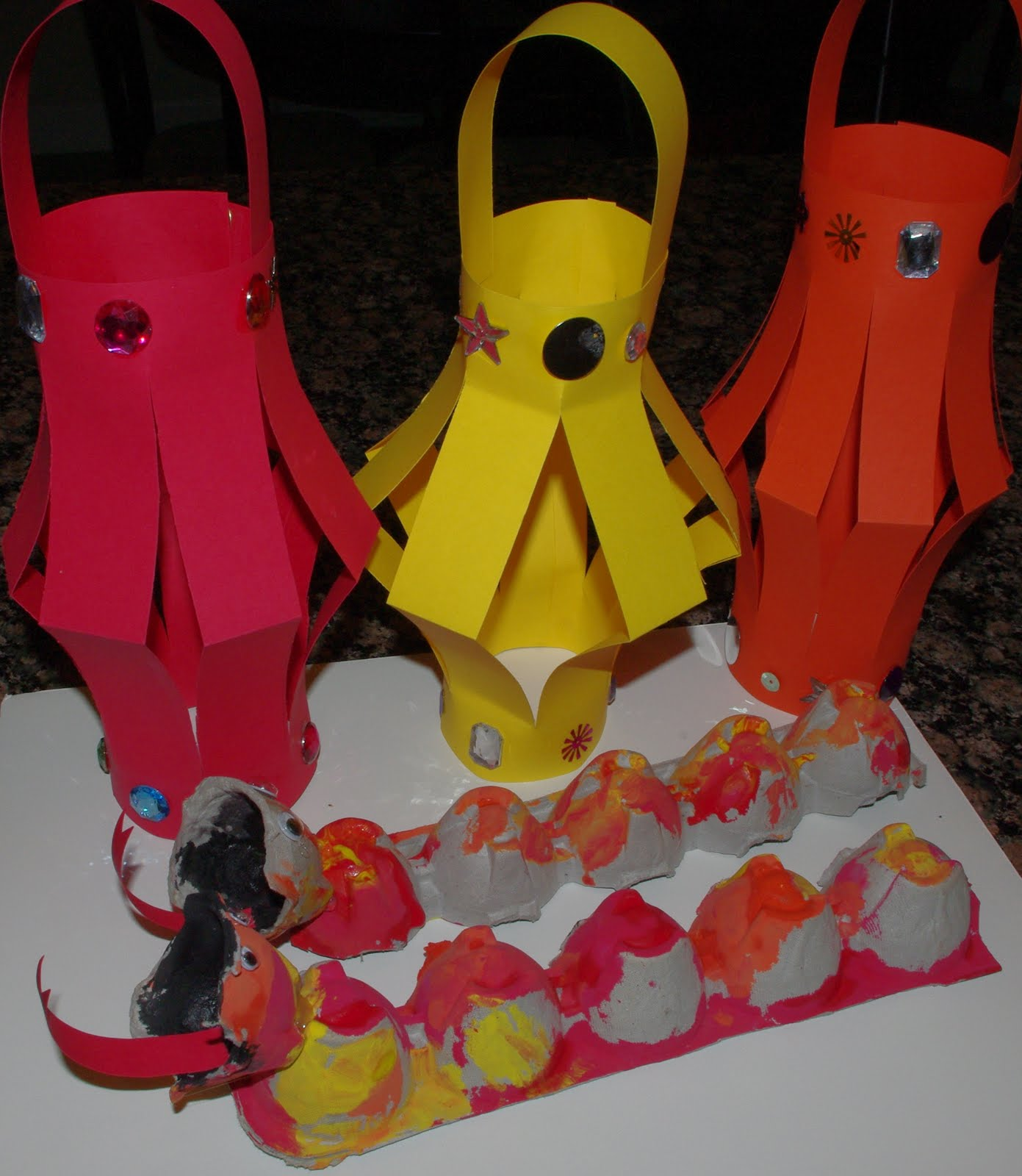 Chinese Lanterns amp Dragons Tutorial Happiness Is Homemade
